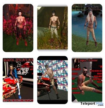 Several Classic Male Avatars Promo by T.J Store - Teleport Hub - teleporthub.com