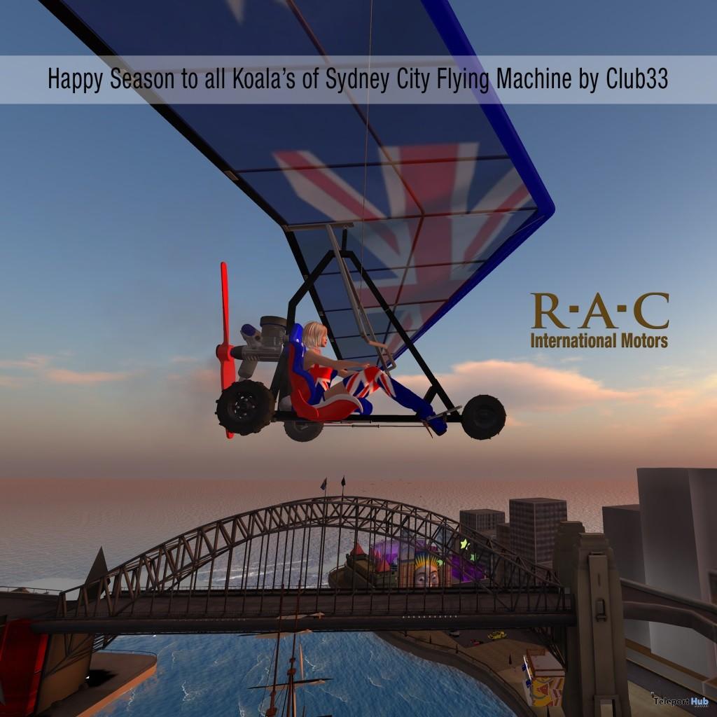 Motor Glider Sydney City Group Gift by RaC - Teleport Hub - teleporthub.com
