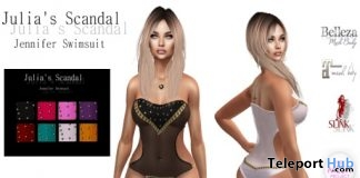 Scandal Jennifer Swimsuit 10L Promo by Julia's Scandal - Teleport Hub - teleporthub.com