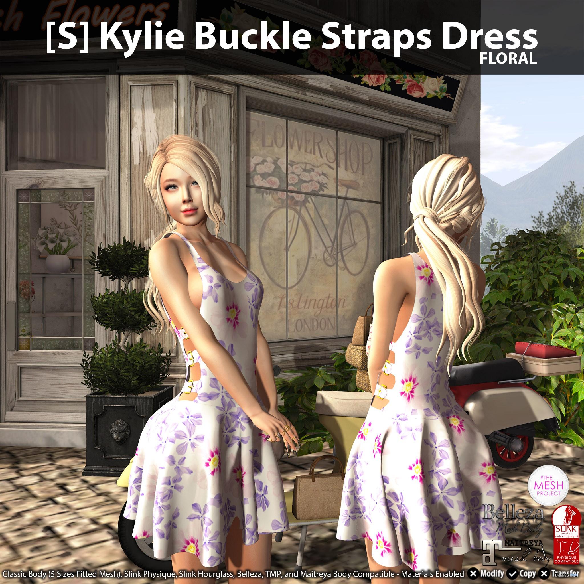 New Release: [S] Kylie Buckle Straps Dress by [satus Inc] - Teleport Hub - teleporthub.com
