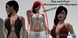 Sparkle White Top & Pants Group Gift by *Arcane Spellcaster* Ak-Creations - Teleport Hub - teleporthub.com