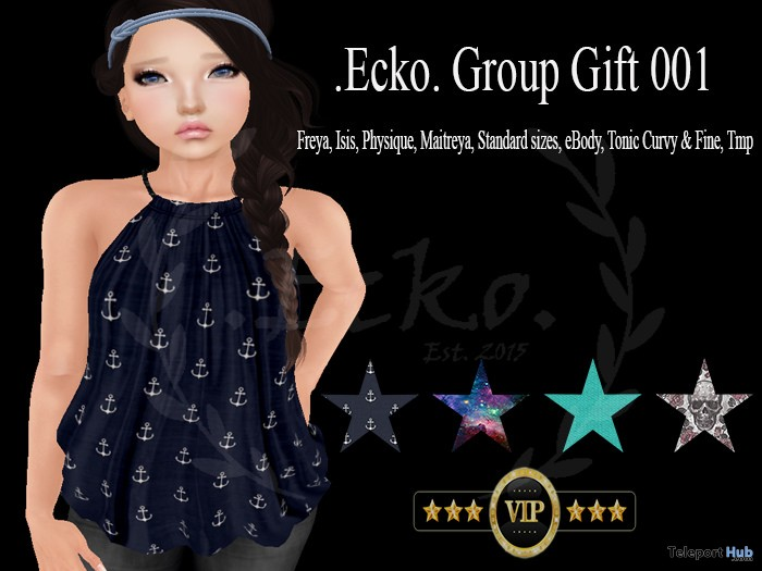 Anchor Top Group Gift by Ecko - Teleport Hub - teleporthub.com