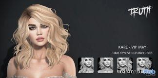 Kare Hair May 2017 VIP Group Gift by TRUTH HAIR - Teleport Hub - teleporthub.com