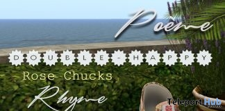 Double Happiness Rhyme Vintage Chucks June 2017 Group Gift by Poeme - Teleport Hub - teleporthub.com