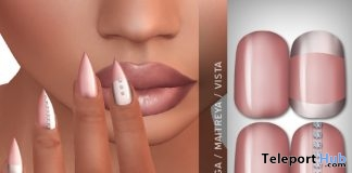 Calla Nails Appliers May 2017 Group Gift by LIVIA - Teleport Hub - teleporthub.com