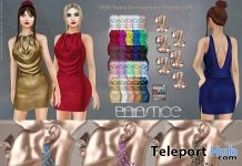 Rome Draped Dress 10th Anniversary Group Gift by Baiastice - Teleport Hub - teleporthub.com