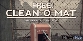 Clean-O-Mat Animated Robot Store Moving Gift by NOMAD - Teleport Hub - teleporthub.com
