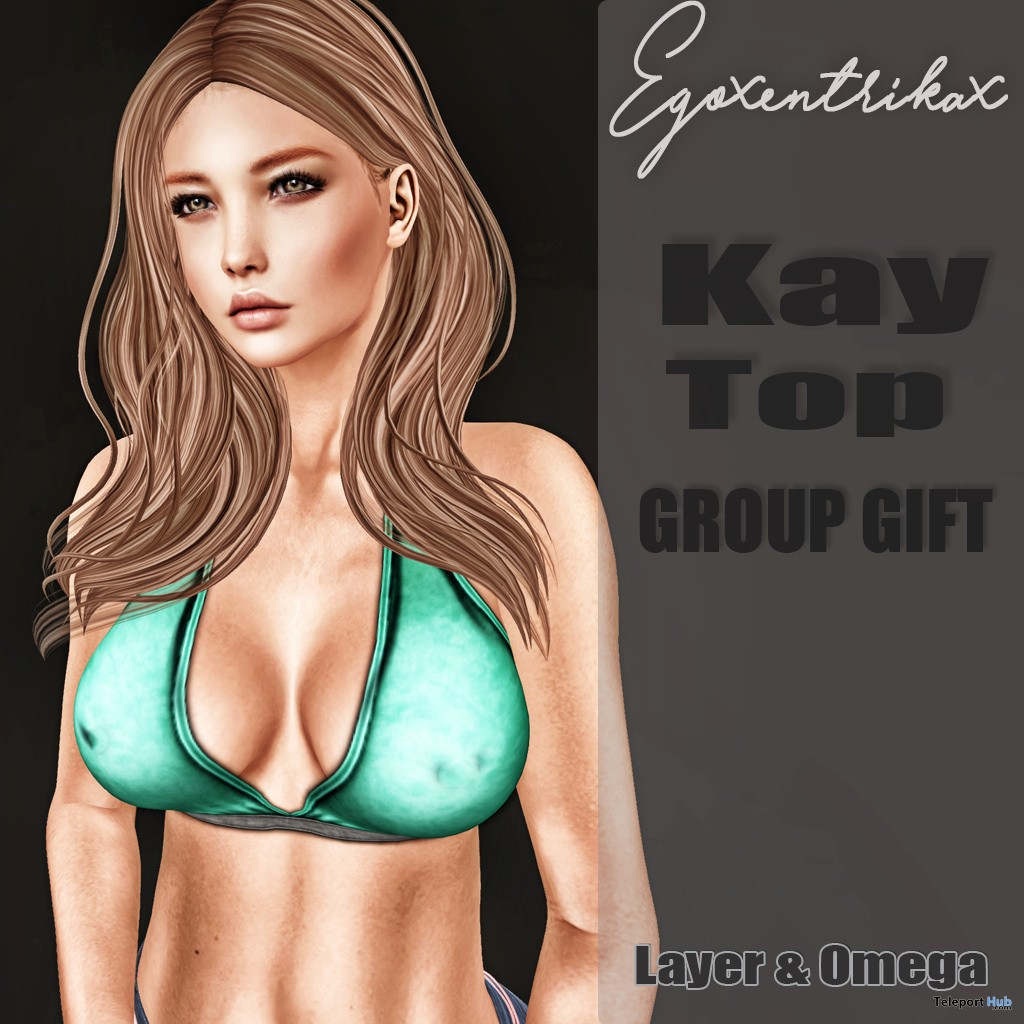 Katy Top With Applier June 2017 Group Gift by Egoxentrikax - Teleport Hub - teleporthub.com