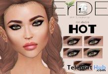 Eye Shadow HOT Makeup For Lelutka Head Group Gift by ERDE - Teleport Hub - teleporthub.com