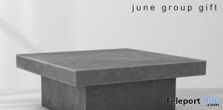 Minimal Concrete Table Group Gift by Fancy Decor - Teleport Hub - teleporthub.com