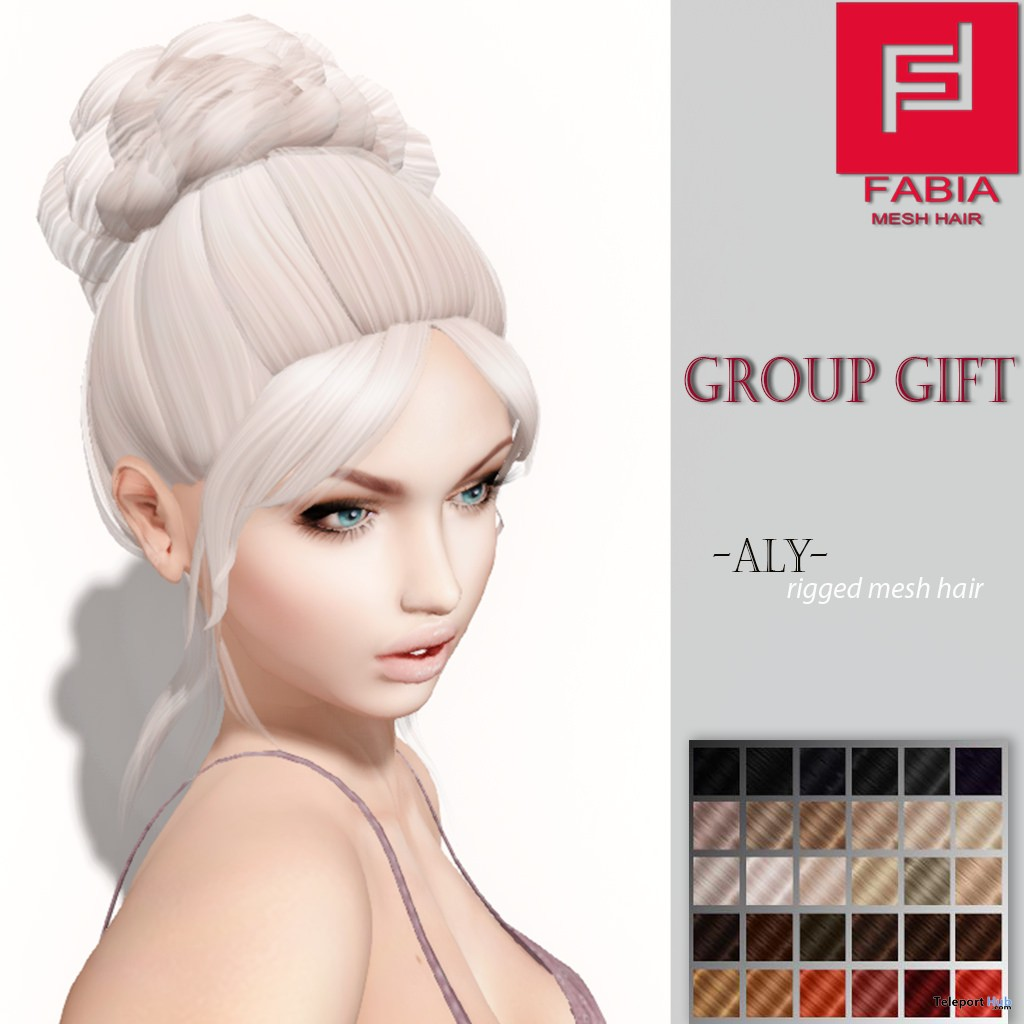 Aly Hair Group Gift by FABIA - Teleport Hub - teleporthub.com