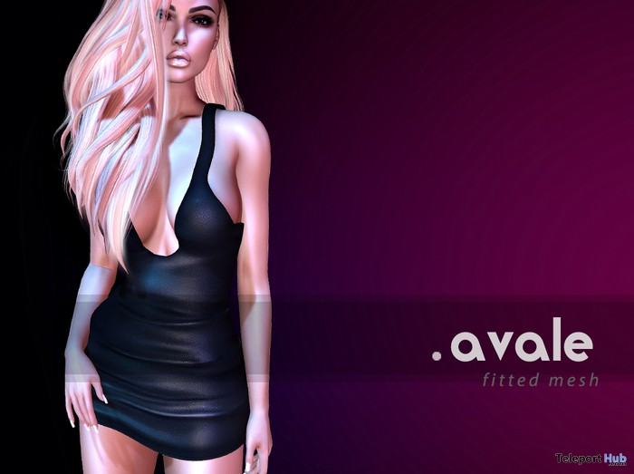 Black Mini Dress 1L Promo Gift by avale - Teleport Hub - teleporthub.com