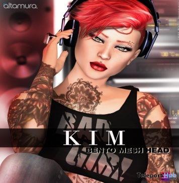 New Release: Kim Bento Head v.0.35.1 by Altamura - Teleport Hub - teleporthub.com