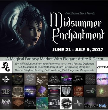 Midsummer Enchantment 2017 Fair & Hunt - Teleport Hub - teleporthub.com