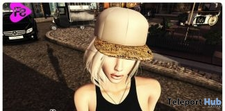 Cap Blue & Coffee Unisex Ross Event June 2017 Group Gift by Frimon Store - Teleport Hub - teleporthub.com