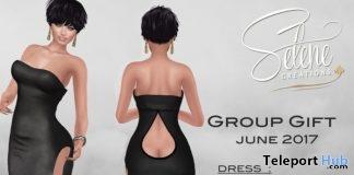 Sexy Long Dress June 2017 Group Gift by Selene Creations - Teleport Hub - teleporthub.com