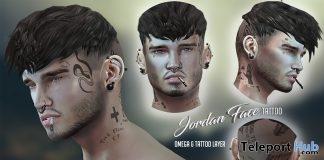 Jordan Face Tattoo Gift by Speakeasy - Teleport Hub - teleporthub.com