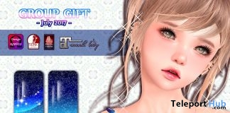 Milkyway Nail July 2017 Group Gift by petit chambre - Teleport Hub - teleporthub.com