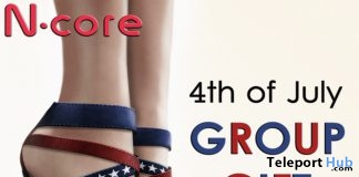 4th of July Heels Group Gift by N-CORE - Teleport Hub - teleporthub.com
