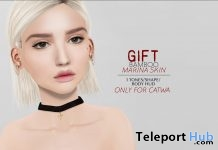 Marina Skin For Catwa Head Gift by BAMBOO - Teleport Hub - teleporthub.com