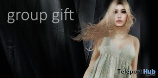 Tamara Dress July 2017 Group Gift by !gO! - Teleport Hub - teleporthub.com
