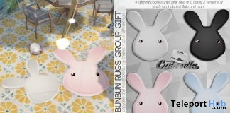 BunBun Rugs Group Gift by Caboodle - Teleport Hub - teleporthub.com