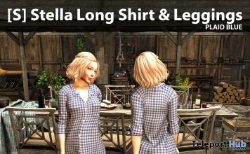 New Release: [S] Stella Long Shirt & Leggings by [satus Inc] - Teleport Hub - teleporthub.com
