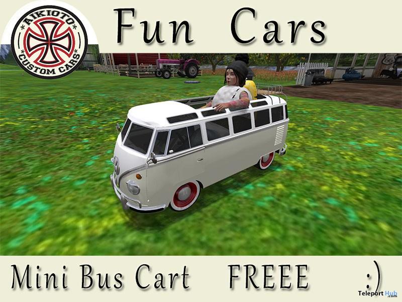 Mini Bus Cart Gift by AIKIOTO - Teleport Hub - teleporthub.com