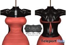 Julia Dress August 2017 Group Gift by ChicModa - Teleport Hub - teleporthub.com
