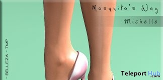 Michelle Heels August 2017 Group Gift by Mosquito's Way - Teleport Hub - teleporthub.com