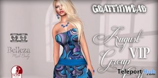 Romper August 2017 Group Gift by Graffitiwear - Teleport Hub - teleporthub.com