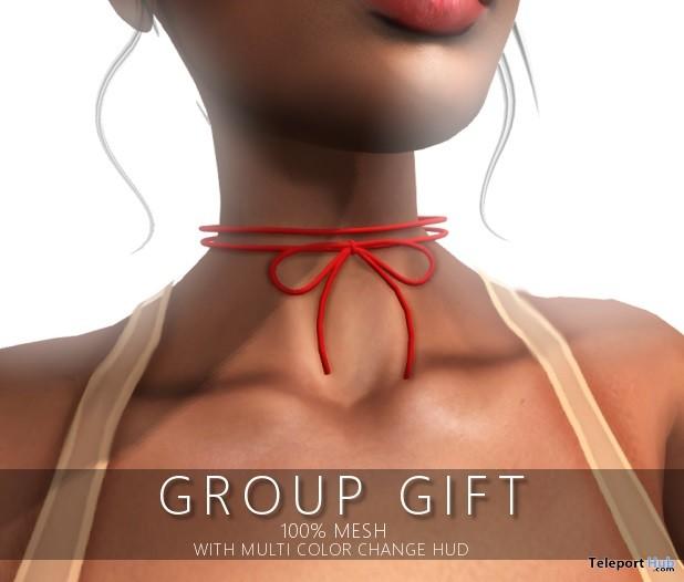 Tied Choker Group Gift by Raiment - Teleport Hub - teleporthub.com