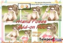 rHand Poses Addon HUD Teleport Hub Group Gift by A&R Haven - Teleport Hub - teleporthub.com