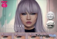 Face Tattoos 1L Promo Gift by POUT! - Teleport Hub - teleporthub.com