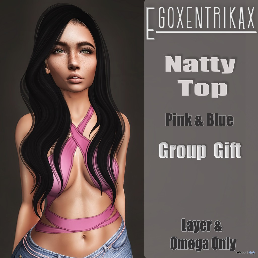 Natty Top September 2017 Group Gift by Egoxentrikax - Teleport Hub - teleporthub.com