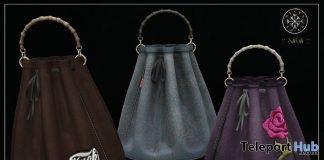 Bucket Bag With HUD September 2017 Group Gift by SAGA - Teleport Hub - teleporthub.com