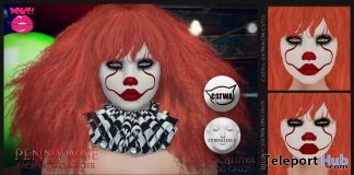 Pennywise Face Tattoo 1L Promo Gift by POUT! - Teleport Hub - teleporthub.com