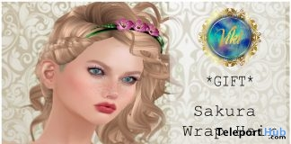 Sakura Wrap Headband For Fancy Event 1L Promo Gift by Viki - Teleport Hub - teleporthub.com