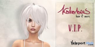 Jin Hair FatPack September 2017 Group Gift by KoKoLoReS - Teleport Hub - teleporthub.com