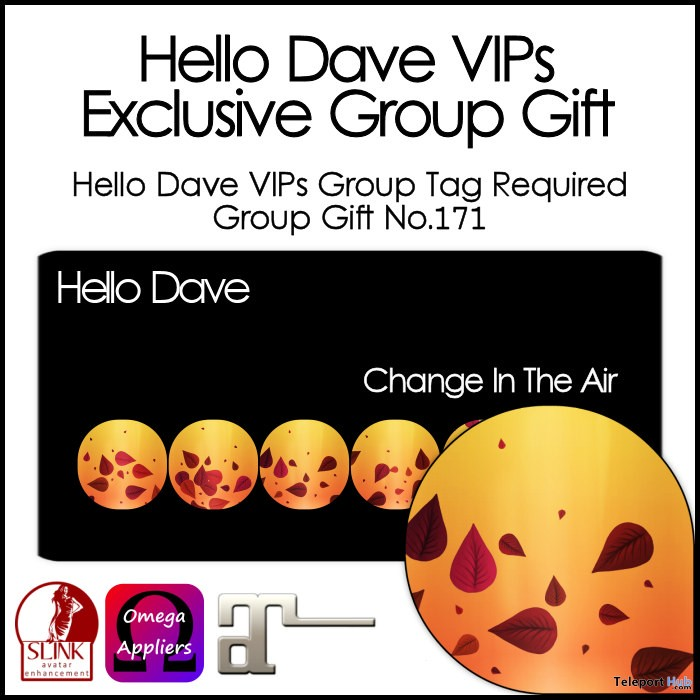 Change In The Air Nail Applier Group Gift by Hello Dave - Teleport Hub - teleporthub.com