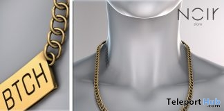 Trust No BTCH Necklace Group Gift by NOIR - Teleport Hub - teleporthub.com