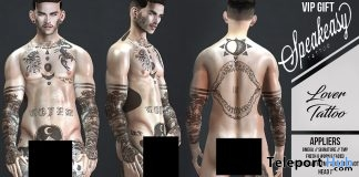 Lover Body Tattoo September 2017 Group Gift by Speakeasy - Teleport Hub - teleporthub.com