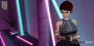 Scorpina Dress v1 September 2017 Group Gift by Elven Elder - Teleport Hub - teleporthub.com