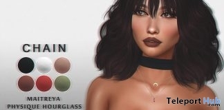 Luna Choker Top September 2017 Group Gift by CHAIN - Teleport Hub - teleporthub.com