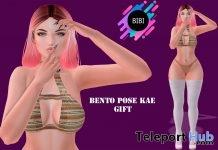 Kae Bento Portrait Pose 1L Promo Gift by BIBI - Teleport Hub - teleporthub.com