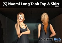 New Release: [S] Naomi Long Tank Top & Skirt Top by [satus Inc] - Teleport Hub - teleporthub.com