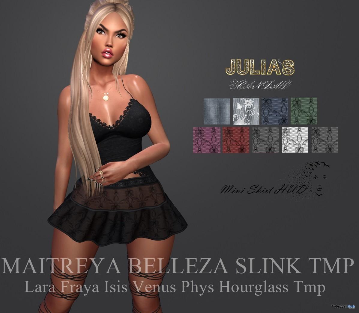 Mini Skirt Group Gift by Julia's Scandal - Teleport Hub - teleporthub.com