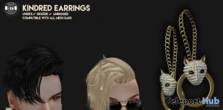Kindred Unisex Earrings September 2017 Group Gift by [Since 1975] - Teleport Hub - teleporthub.com