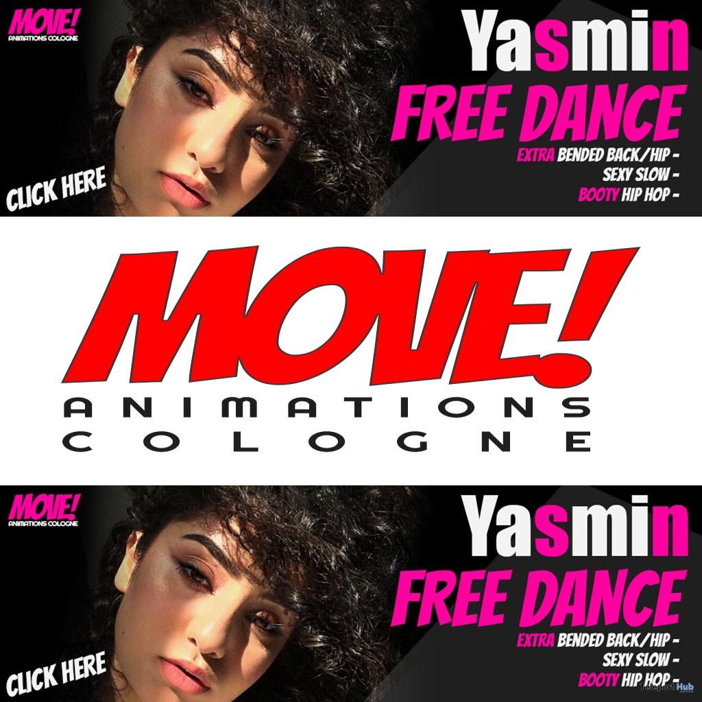 Yasmin 16 Dance Gift by MOVE! Animations Cologne - Teleport Hub - teleporthub.com