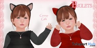 Kitty and Devil Costumes October 2017 Group Gift by Buglets - Teleport Hub - teleporthub.com